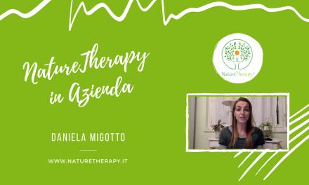 NatureTherapy© in Azienda – Speech di Daniela Migotto
